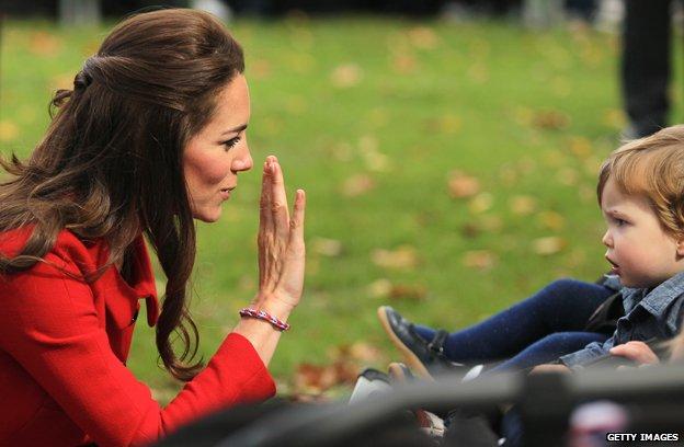 Герцогиня Кэмбриджская Кэтрин и браслет rainbow loom